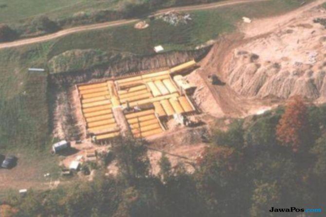 bunker untuk persiapan perang nuklir