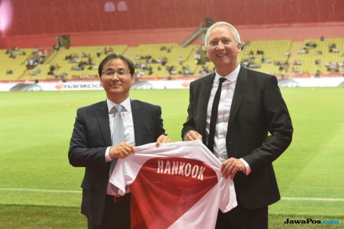 Produsen Ban Hankook Tire Perancis Bekerjasana Dengan AS Monaco