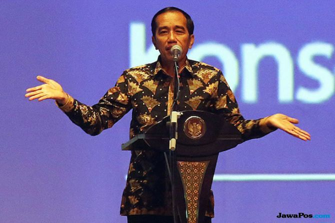 Protes Dana Kelurahan, Jokowi: Banyak Politisi yang Sontoloyo