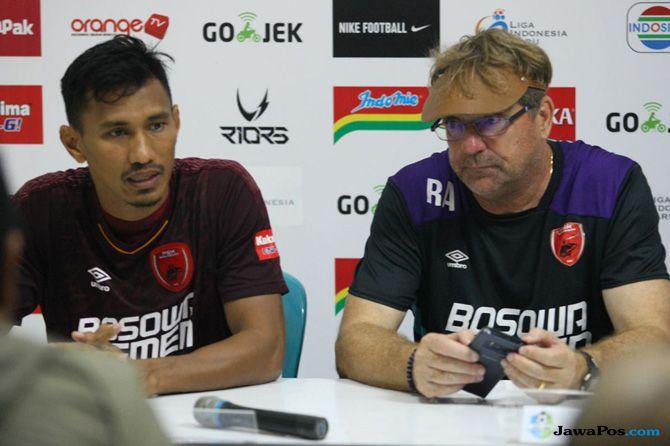 PSM Makassar, Liga 1 2018, Persipura Jayapura, Robert Rene Alberts