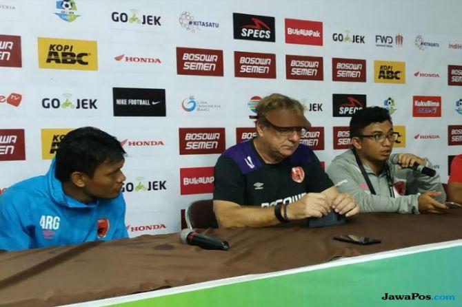 PSM Makassar, Persipura Jayapura, Liga 1 2018, Robert Rene Alberts