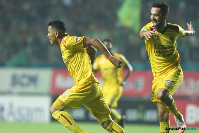 PSM Makassar, Sriwijaya FC, Alberto Goncalves, Beto, Esteban Vizcarra