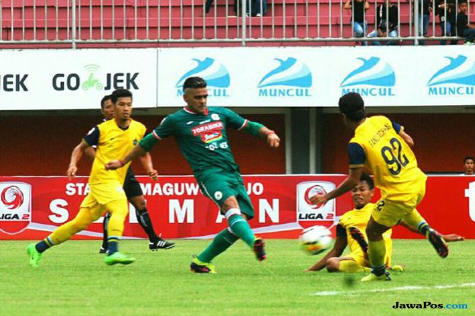 PSS Sleman, Persegres Gresik United, Liga 2 2018