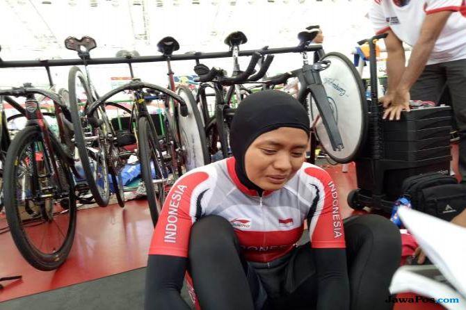 Asian Track Championship 2019, balap sepeda, Indonesia, Sri Sugiyanti
