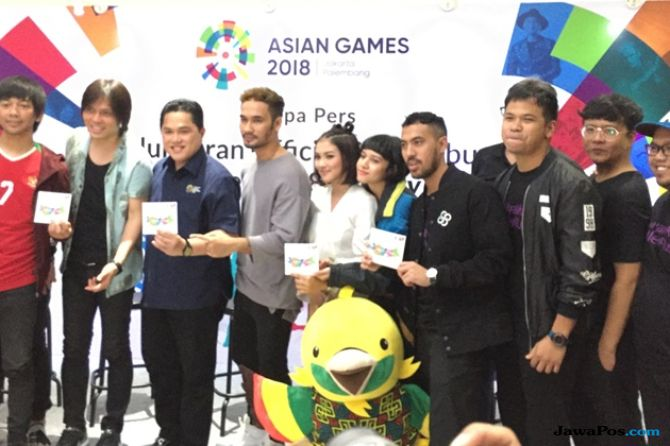 Ramaikan Asian Games, Album 'Energy of Asia' Resmi Diluncurkan
