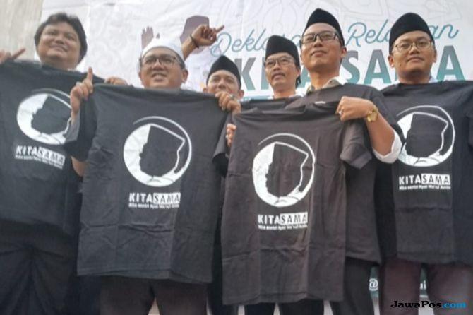 Ratusan Santri Muda NU Malang Deklarasikan Dukung Jokowi-Ma'ruf Amin