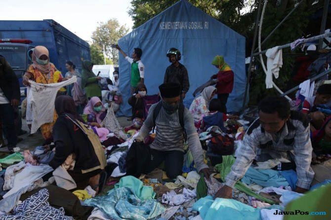 Rawan ISPA, Pertamina Bagi-bagi Masker Buat Korban Gempa Sulteng