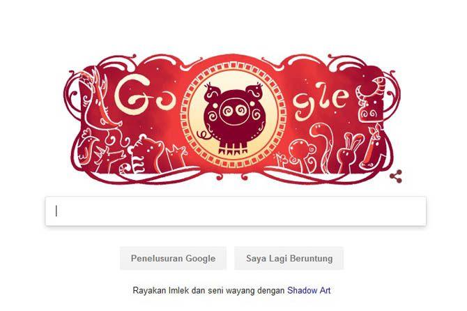 Tahun Baru Imlek, Imlek Google Doodle, Google Tahun Baru Imlek