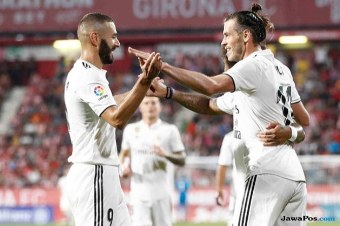 La Liga 2018-2019, Liga Spanyol, Real Madrid, Girona