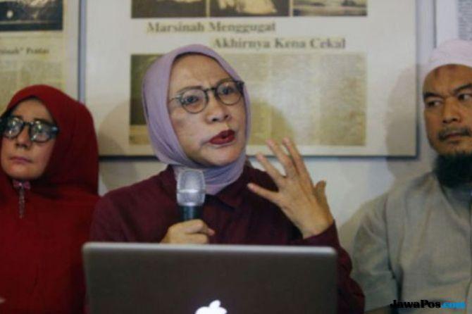 Relawan Jokowi Adukan Ratna Sarumpaetke Polda Sumut