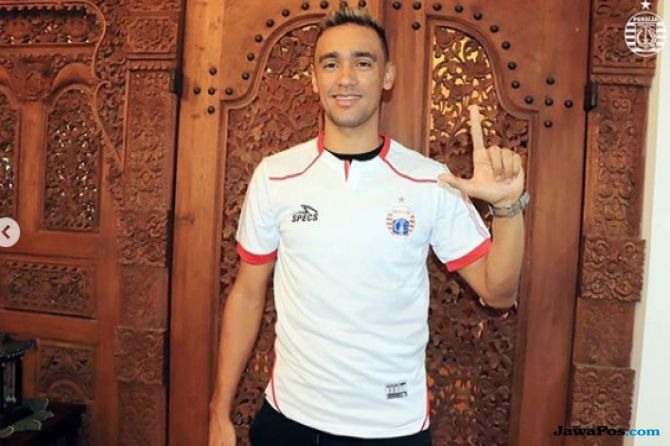 Bruno Matos Photo: Resmi Gabung Persija, Eks Gelandang Red Star Belgrade