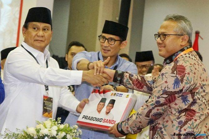 Resmi Mendaftar, Prabowo: Kami Ingin Berkuasa Atas Izin Rakyat!