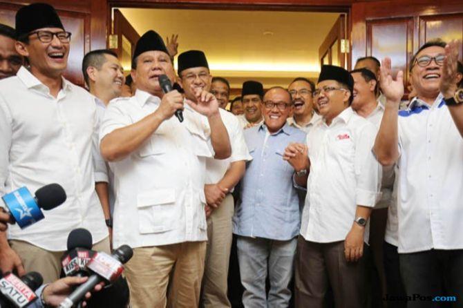 Resmi Mundur dari Ketua Pemenangan Pilpres, Sandi: Pak Prabowo Legawa