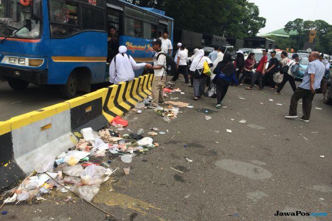 Reuni 212 Tinggalkan Sampah, Massa: Itu Oknum Tak Bertanggung Jawab