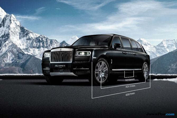 Rolls-Royce Siap Bangun SUV Anti Peluru Termewah di Dunia