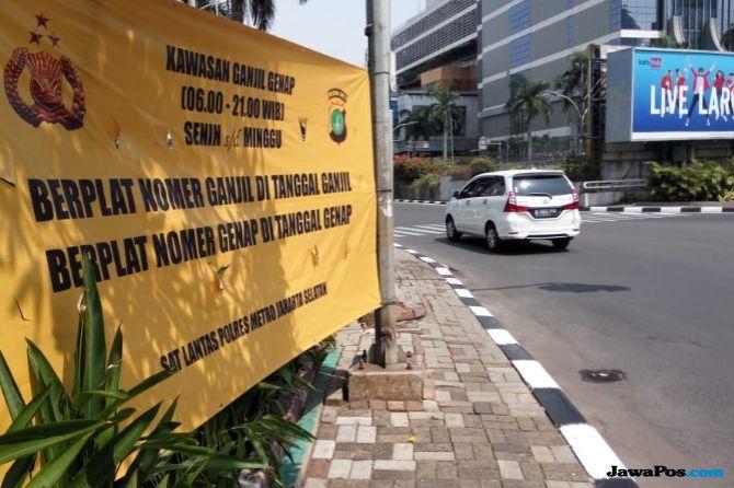 Ruas Jalan Ganjil Genap di Pondok Indah dan Kemayoran Dipangkas