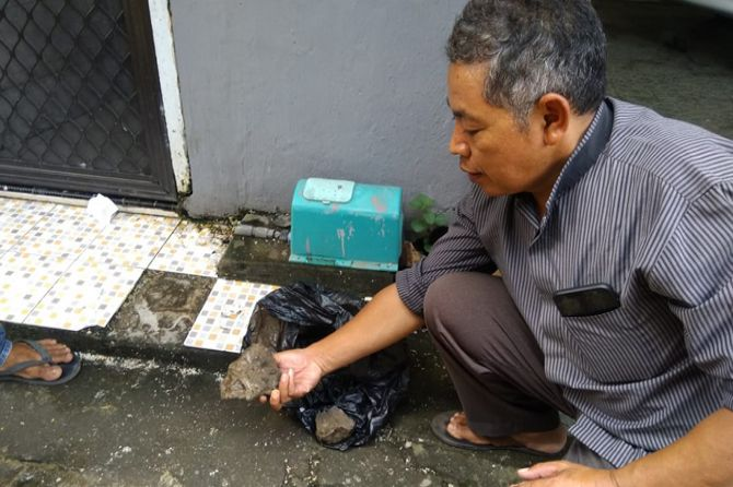 Rumah Ketua MUI Sulsel Dilempari Batu oleh Lelaki Gangguan Jiwa