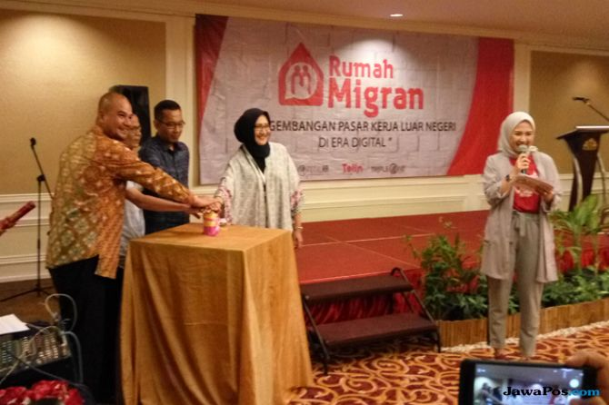 Peluncuran Aplikasi Rumah Migran di Batam
