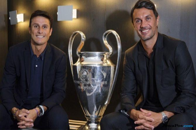 AC Milan, Inter Milan, Paolo Maldini, Javier zanetti