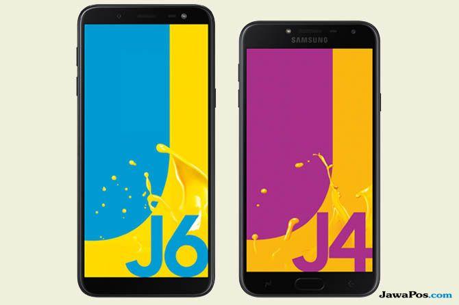 Samsung Galaxy J4 Dan J6 Harga Ekonomis Pas Untuk Lebaran