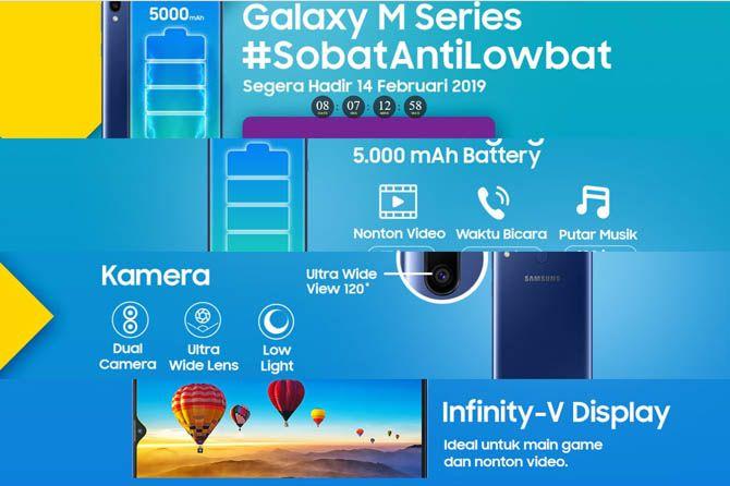 Samsung Galaxy M20, Samsung Galaxy M20 Indonesia, Samsung Galaxy M20 14 Februari