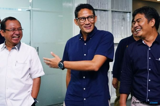 Sandiaga Happy Dengan Hasil Debat: Pak Prabowo Banyak Senyum