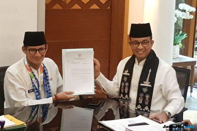Sandiaga Mundur, Begini Mekanisme Pemilihan Wagub DKI Jakarta