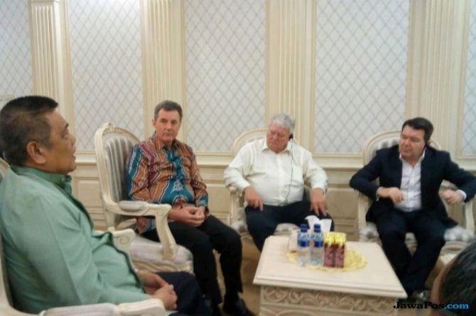 Sasar Pembangunan Timur Indonesia, Senator Australia Sambangi Sulsel