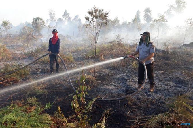 Satelit Memantau 55 Hotspot Tersebar di Riau
