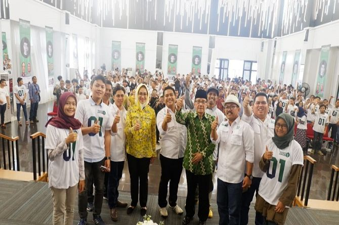 Satu Lagi Kelompok Milenial Dukung 01, Akbar Tanjung Bilang Begini