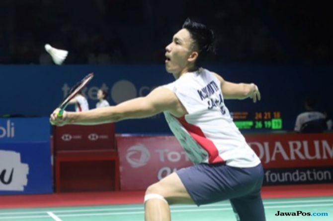 Kejuaraan Dunia 2018, Kento Momota, Jepang