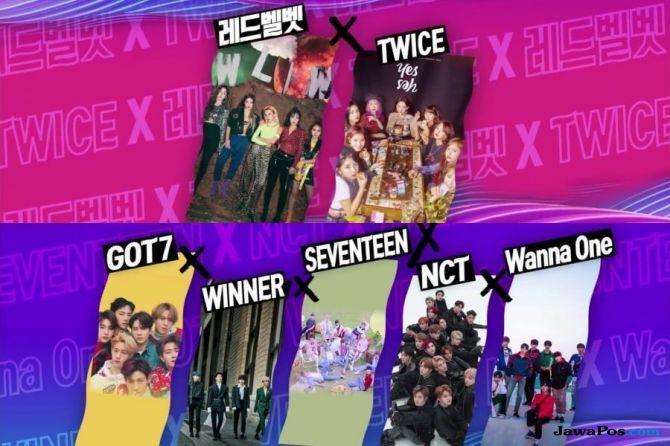 SBS Gayo Daejun 2018 Bocorkan Kolaborasi Spesial Lima Boygrup K-pop
