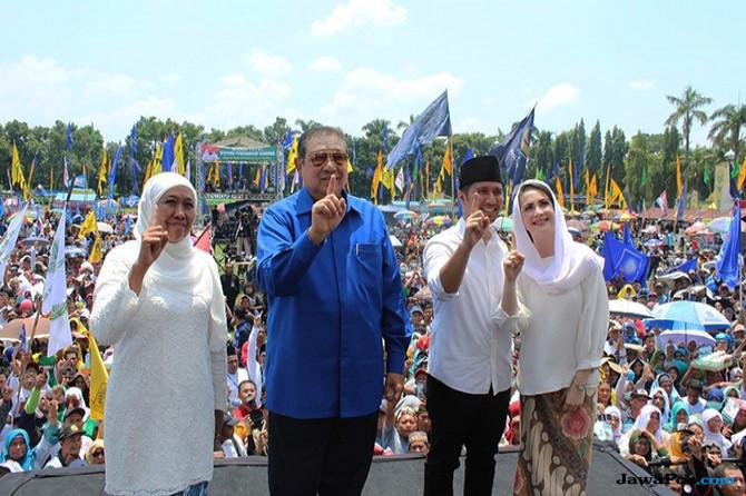 SBY: Jatim Semakin Sejahtera Dengan Bude Khofifah