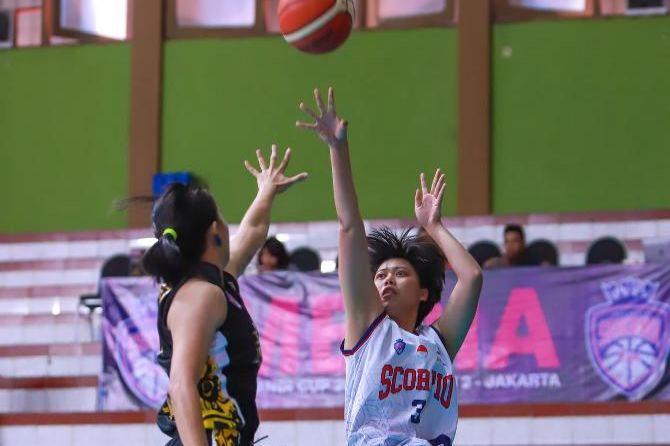 Srikandi Cup 2018/2019, basket, Indonesia, Scorpio Jakarta, Tenaga Baru Pontianak