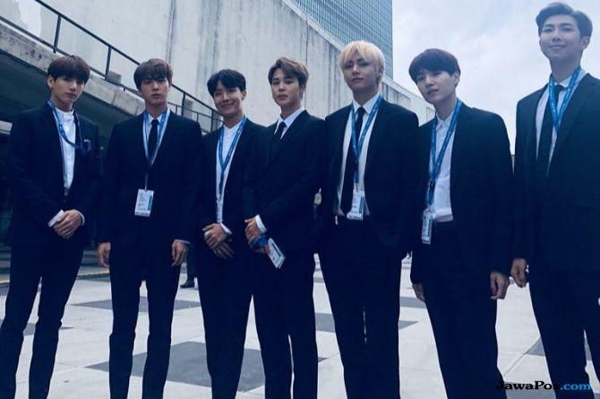 Sebarkan Bahasa Korea, BTS Terima Penghargaan dari Pemerintah