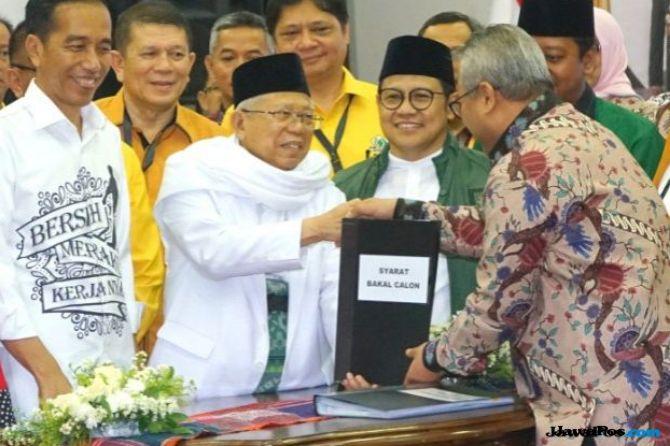 Jokowi Kyai Ma'ruf