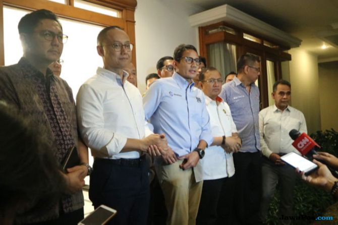 Sekjen Parpol Pendukung Prabowo-Sandiaga Uno