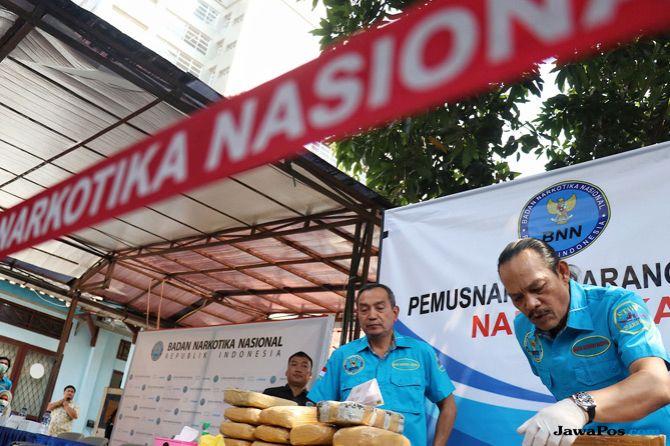 Selain Sipir Lapas, BNN Juga Ringkus 6 Bandar Narkoba di Lubuk Pakam