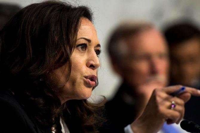 Senator Perempuan Blasteran India-Jamaika Kejar Tiket dari Demokrat