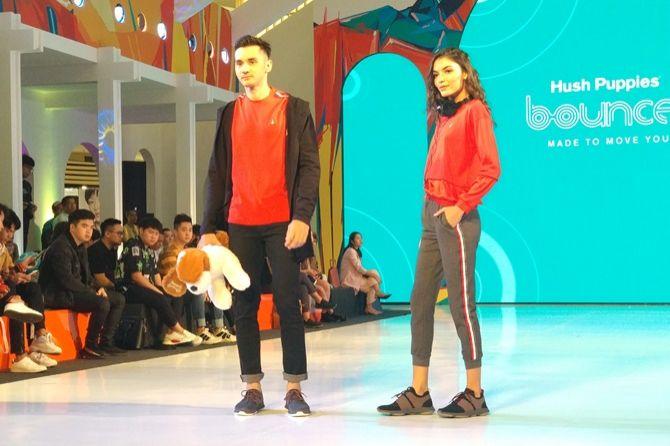 tren sepatu, fashion nation XIII 2019, hush puppies,