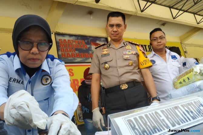 Sepekan, Polrestabes Medan Cokok 8 Pengedar Narkoba