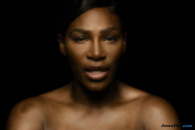 Serena Williams Telanjang Demi Ingatkan Bahaya Kanker Payudara