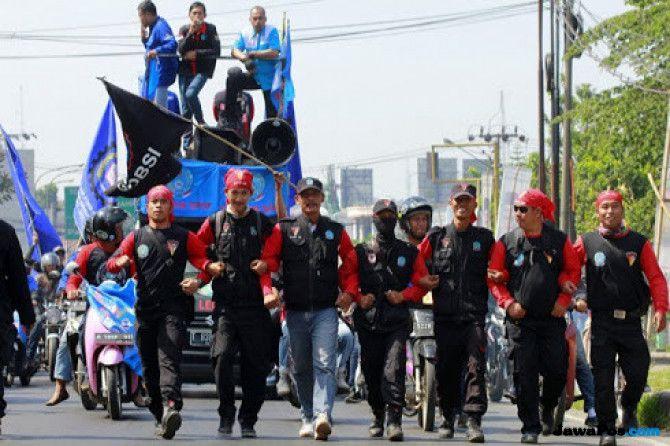 Serikat Pekerja Gelar Aksi Tuntut Kejelasan Kontrak JICT-Koja
