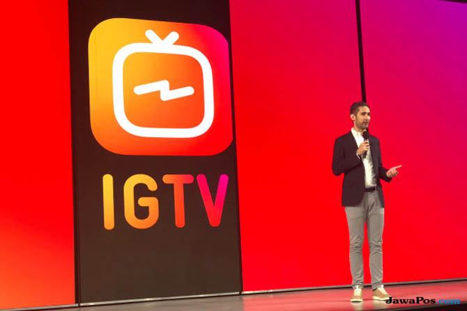 instagram TV, IGTV, cara kerja igtv
