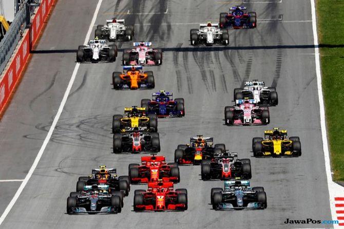 Formula 1 2019, F1 2019, Jadwal Formula 1, Kalender F1