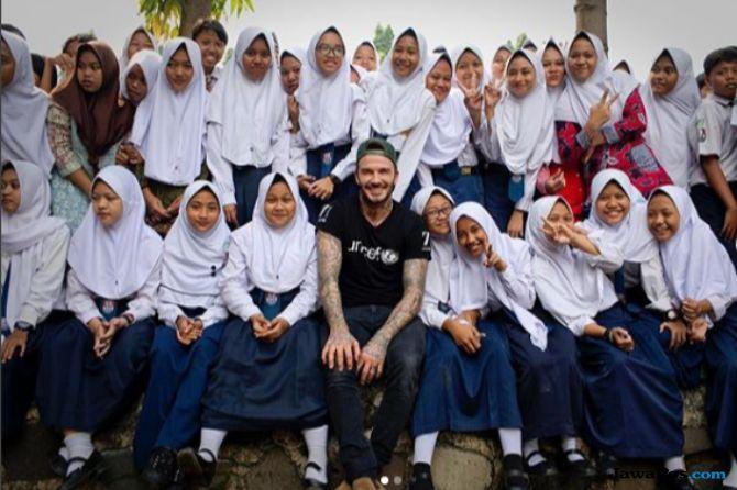 David Beckham, Gempa Sulawesi Tengah, Gempa Palu, Tsunami, Donggala, Korban Gempa Sulteng
