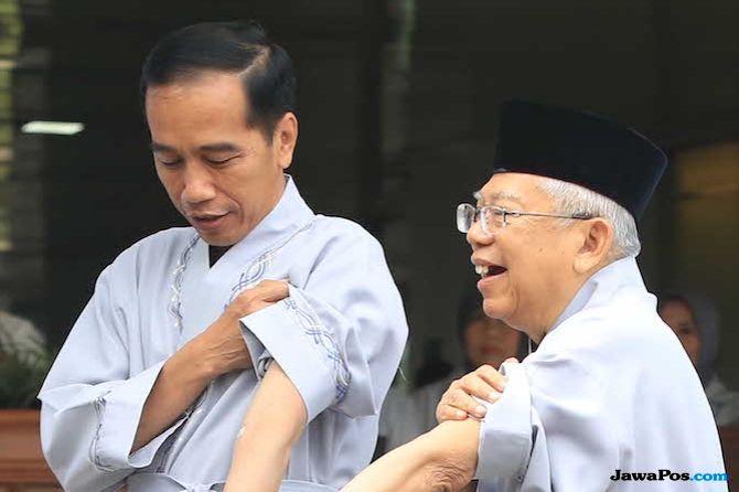 Sindir Prabowo, Ma'ruf: Batin Ingin Melompat Kalau Tak Ketemu Wartawan