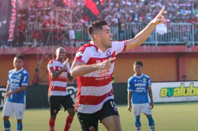 Soal Sponsor Naturalisasi Fabiano, Madura United: Urusan Klub Barunya