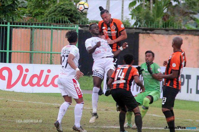 Perseru Serui, Bali United, Liga 1 2018, Stadion Marora