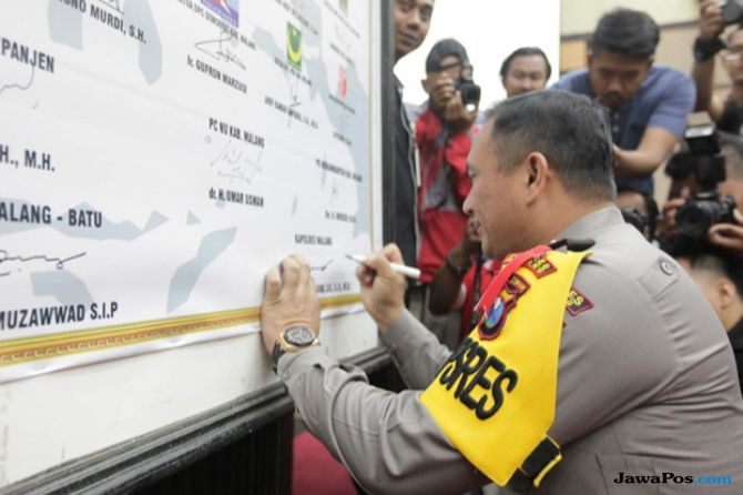 Stakeholder Malang Sepakat Jaga Kondusifitas Pemilu 2019